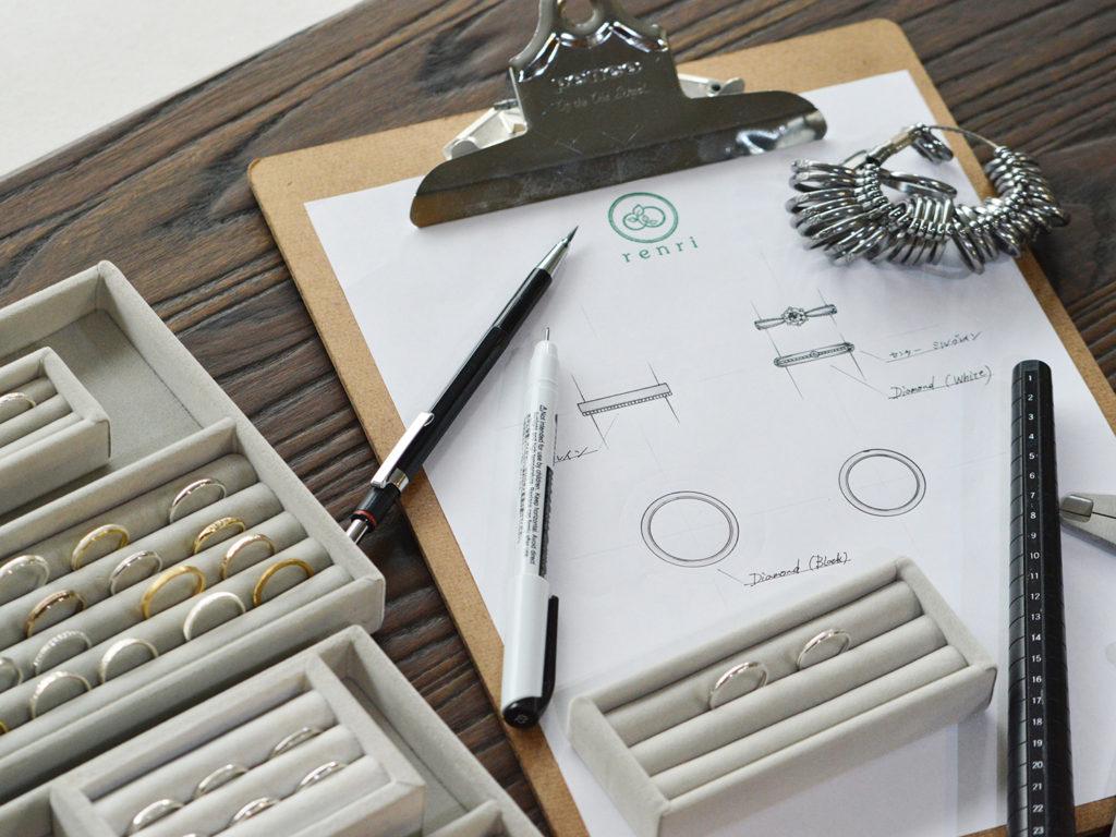 レンリのデザイン画
