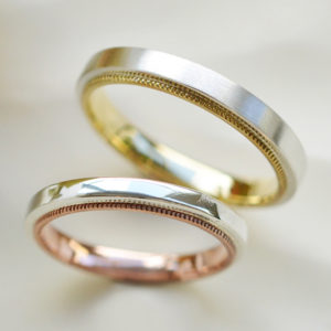 手作りの結婚指輪