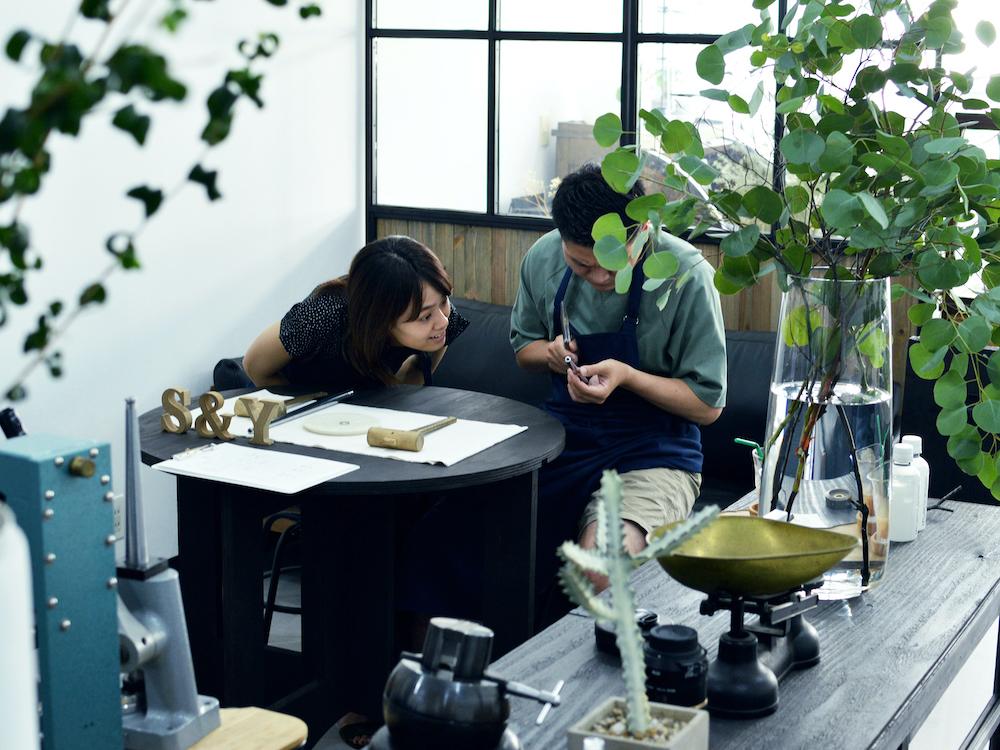 renri横浜新アトリエの制作スペース